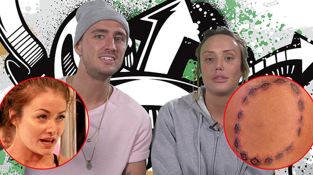 Charlotte Crosby And Stephen Bear Reckon Jess Impiazzi Stitched Up Her Fiancé On Just Tattoo Of Us - EXCLUSIVE