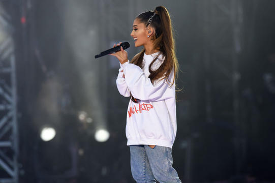 Ariana Grande Pays Tribute To Youngest Manchester Attack Victim