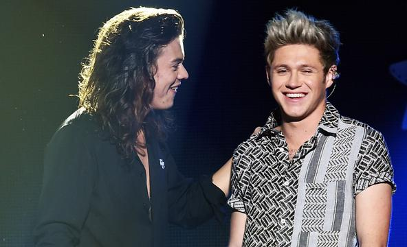 Niall horan and harry styles had a beautiful reunion last night niall horan and harry styles had a beautiful reunion last night mtv uk m4hsunfo