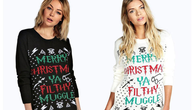 Boohoo Have Launched The Most Magical Harry Potter Christmas Jumper