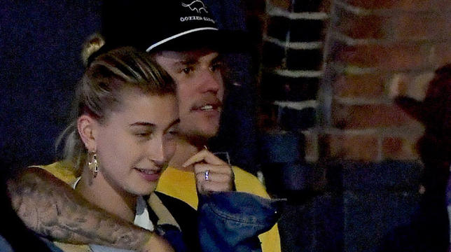 Hailey Baldwin, Justin Bieber And A Huge Diamond Ring | MTV UK