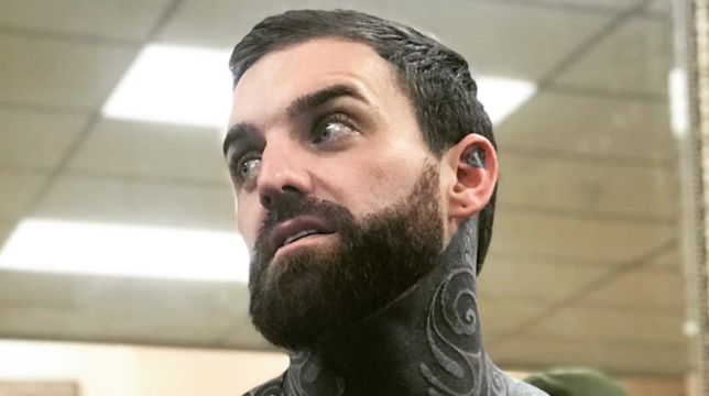 Aaron Chalmers Finally Unveils White Tattoos Over Black