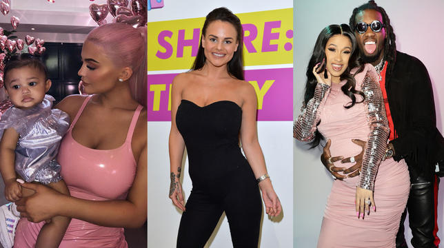 Celeb Pregnancies We Didn't Be taught Coming In 2018: From Cardi B To Chantelle Connelly thumbnail
