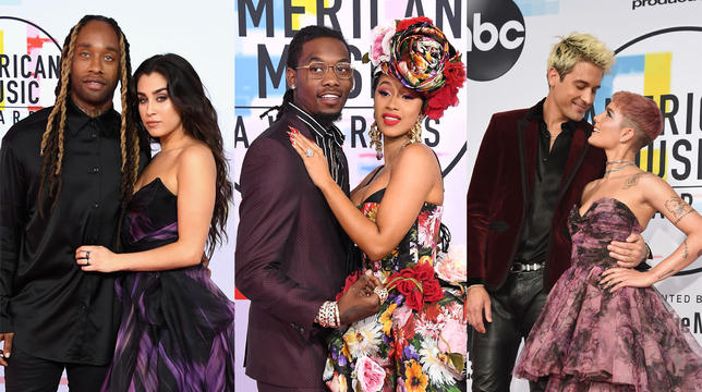 The Cutest Couples At The AMAs 2018: Including Halsey And G-Eazy thumbnail