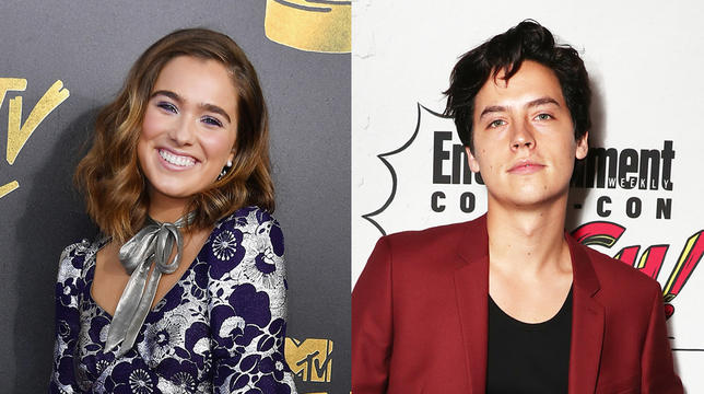 Cole Sprouse And Haley Lu Richardson Share First De S Of New Movie Five Feet Apart Mtv Uk