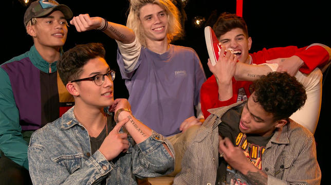 Introducing PRETTYMUCH MTV Push Exclusive Interview