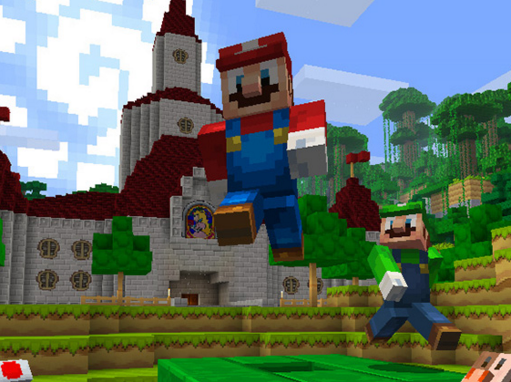You\'ve Got To See The New Mario World In Minecraft On The Nintendo ...