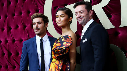 Zac Efron Zendaya And Hugh Jackman Attend The Australian Premiere Of Greatest Showman At