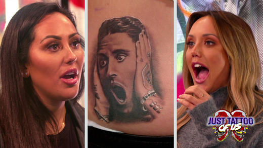 Just Tattoo Of Us The Most SHOCKING Tattoo Reveals MTV UK - Design your own tattoo game