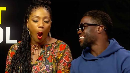 Kevin Hart Tiffany Haddish Take The Try Not To Laugh Challenge