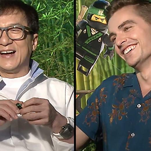 The Lego Ninjago Movie Cast Play WOULD YOU RATHER: LEGO EDITION ...
