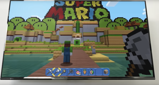 Minecraft On Nintendo Switch