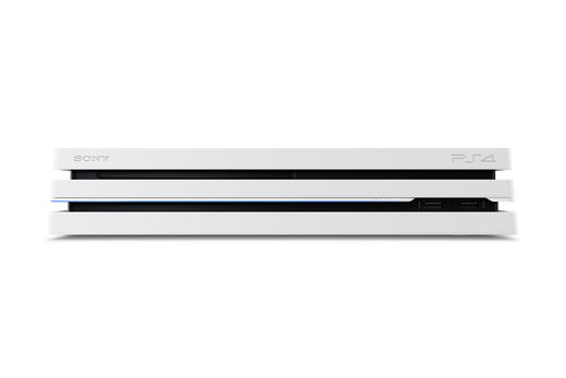 PS4 Pro in Glacier White