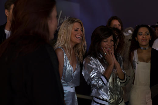 Mollie King - Hair Down - Exclusive On Set Pics