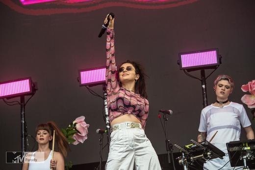 Charli XCX Performs at MTV Gibraltar Calling