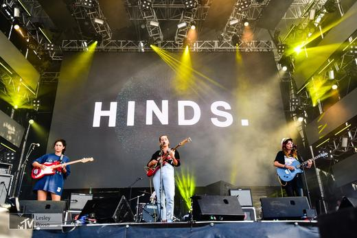 Hinds Perform at MTV Presents Gibraltar Calling