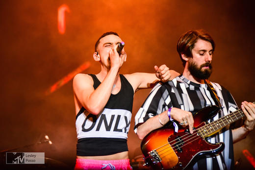 Years & Years Perform at MTV Gibraltar Calling
