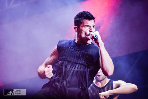 Ricky Martin Performs at MTV Presents Gibraltar Calling