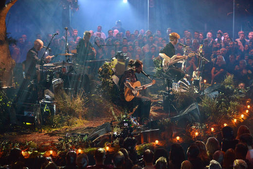 MTV Unplugged: Biffy Clyro at the Roundhouse, London during MTV Music Week
