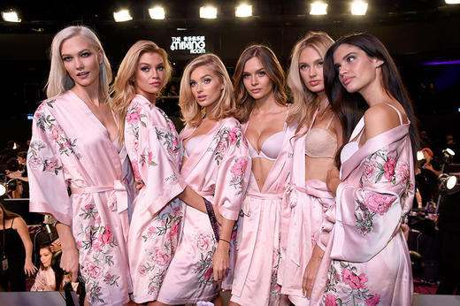 Behind the scenes at the Victoria's Secret Fashion Show 2017 in Shanghai with the VS Angels