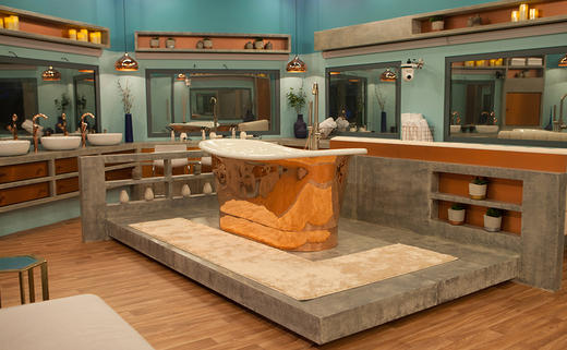 Inside the Celebrity Big Brother house 2018