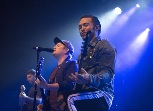 Fall Out Boy perform intimate show at London's Electric Brixton.