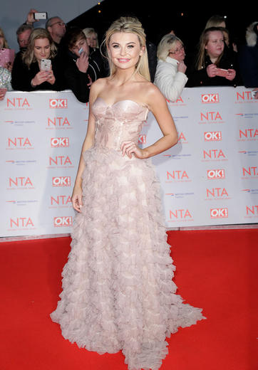 Celeb outfits from the NTAs 2018 red carpet