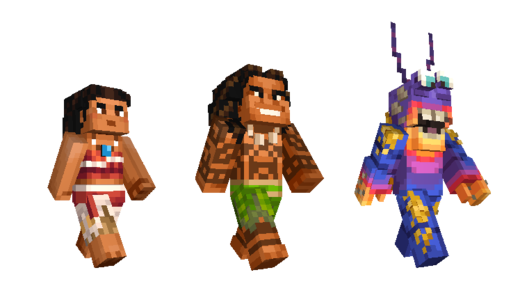 Moana Minecraft Skin Pack