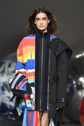 MTV meets Fyodor Golan in the AW18 collection at LFW
