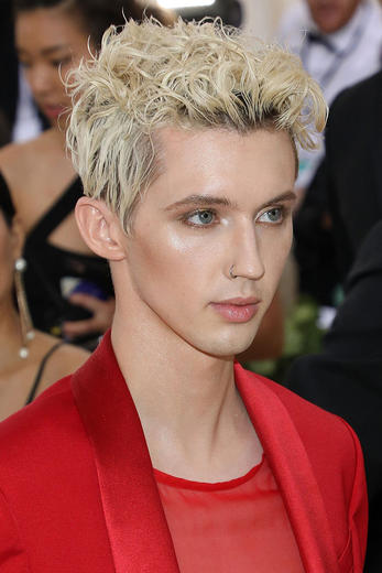 Troye Sivan at the Met Gala 2018
