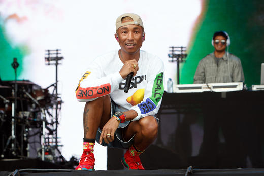 N.E.R.D performing at Lovebox 2018.