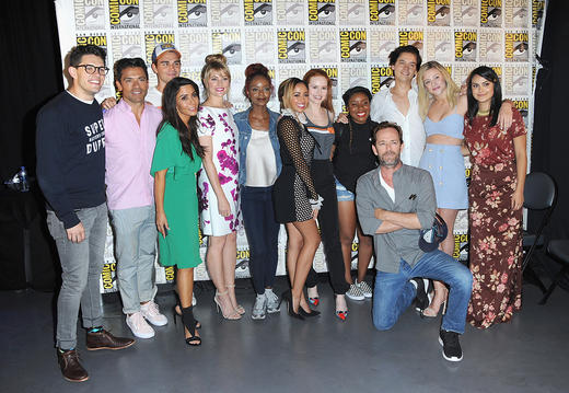 The cast of Riverdale at Comic-con 2018
