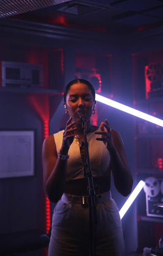 Grace Carter at MTV PUSH Live at Tape London