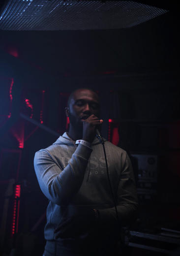Headie One at MTV PUSH Live at Tape London