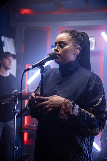 Lil Halima - MTV PUSH Live at Tape London