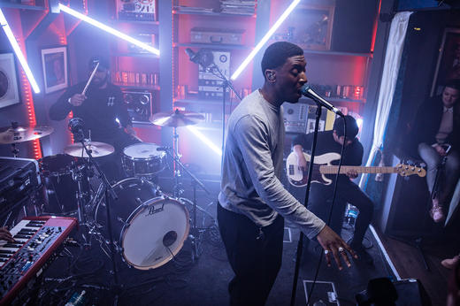 Samm Henshaw - MTV PUSH Live at Tape London