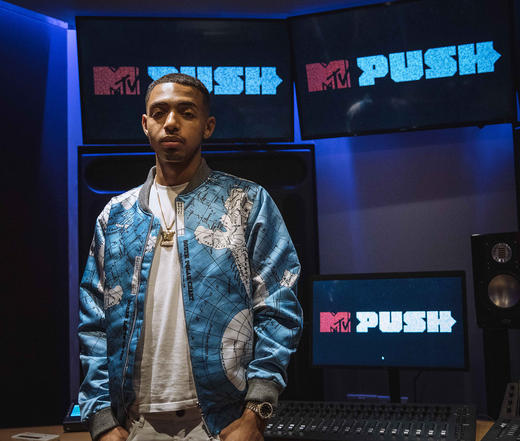 MTV PUSH Live at Tape London - Yung Fume