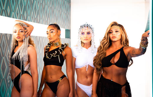 Little Mix - Holiday - Music Video Exclusive Behind The Scenes Pics