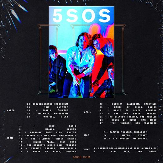 5SOS' 2018 Tour Is Coming To London In April! | MTV UK