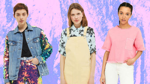 d12088bf 23 Of The Best Colourful Denim Pieces To Shop Right Now | MTV UK