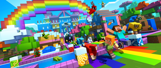 New Minecraft Update Totally Changes All Its Colours Mtv Uk