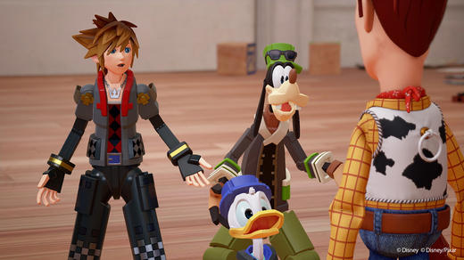 New Toy Story World Unveiled For Kingdom Hearts 3 With 2018 Release