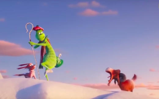 The Taylor Swift Meme Of A Screaming Goat Inspired This Scene In The Grinch Mtv Uk