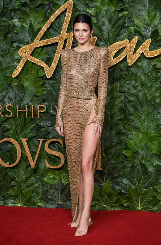 427e5213111 Kendall s fave red carpet look is nude pants and not much else