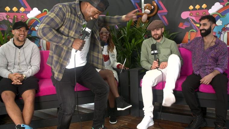 V Festival 2017: Anne-Marie On Being Recognised & Rudimental Show Us Their  Moves | MTV News