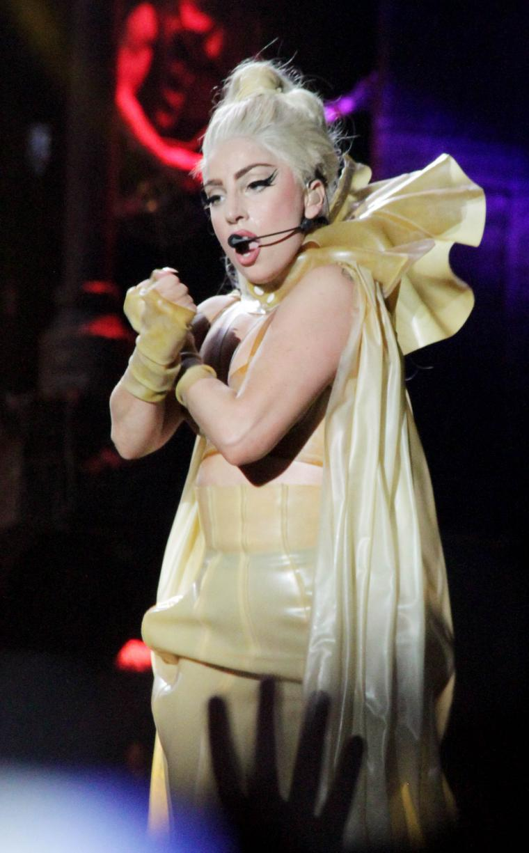 Lady Gagas Born This Way Ball Getting A Face Lift Mtv Uk