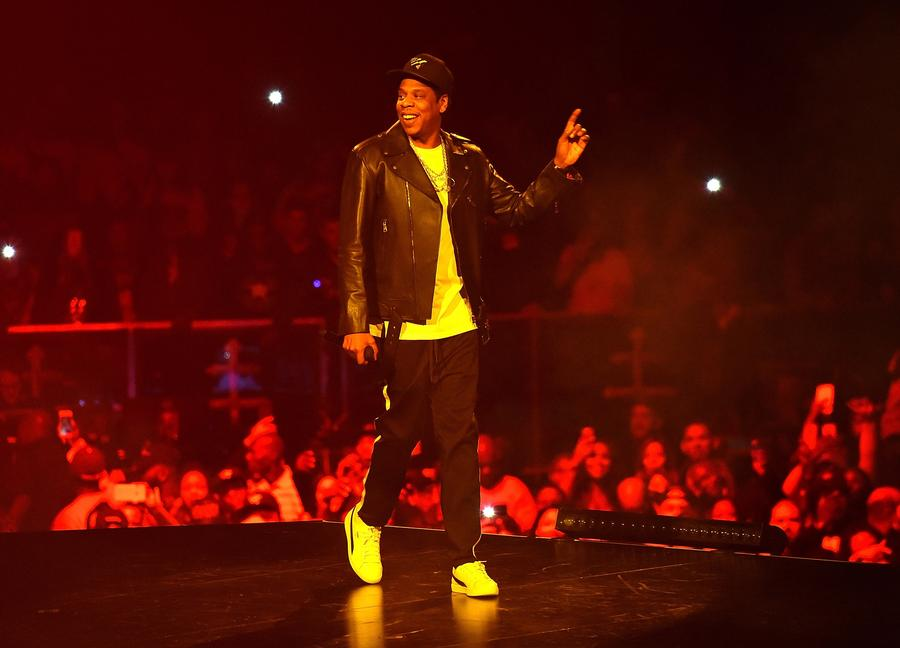 44 tour at Barclays Center of Brooklyn on November 26, 2017 in New York City