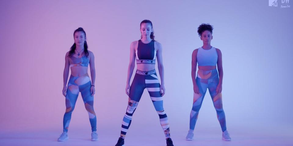 we just launched the ULTIMATE fitness workout series with ultra-babe  danielle peazer!