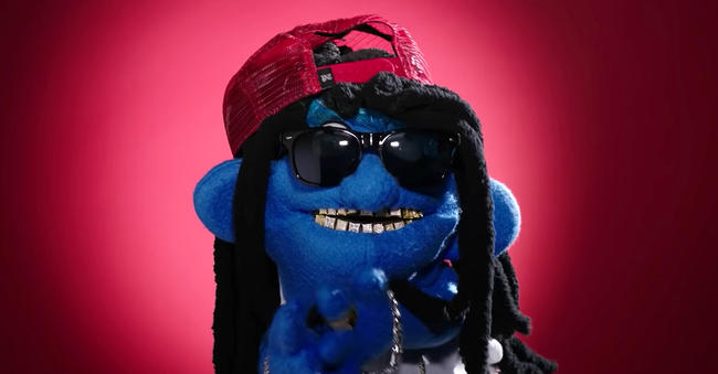 Puppet Lil Wayne in Nicki Minaj's 'Barbie Dreams' Music Video
