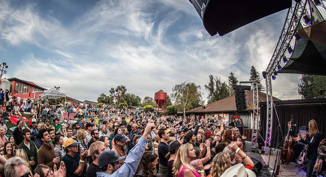 Live At Lagunitas at the The Lagunitas Brewery Amphitheatre, California